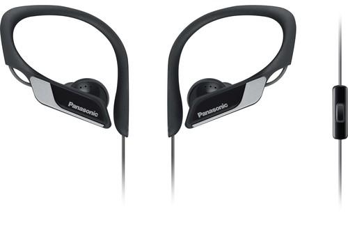 Panasonic Deutsch.CE Kopfhörer Sport,m.Headset RPHS35MEK sw