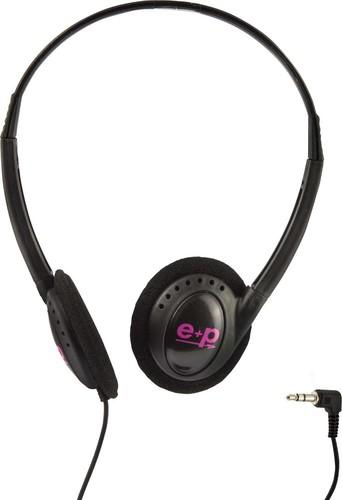 E+P Elektrik Stereo-Kopfhörer schwarz C21