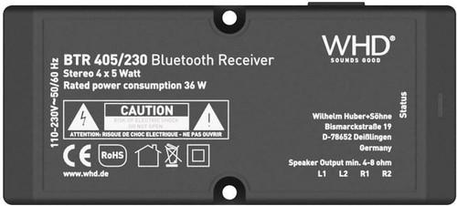WHD Bluetooth-Receiver Set BTR405,4xExciterX328 BTR405Set4
