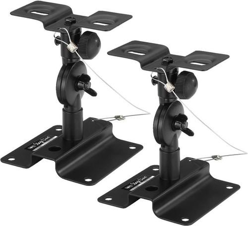 Monacor International Lautsprecher-Wandhalterung Paar LST-6