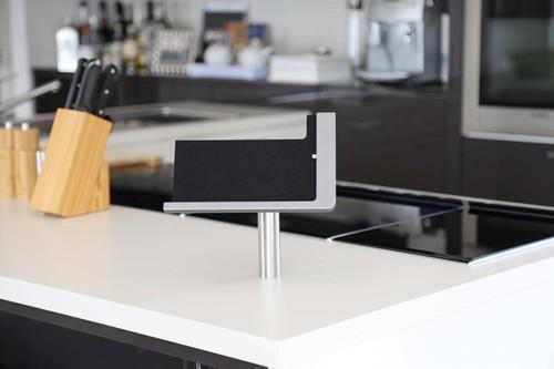 Viveroo iPad Ständerlösung Lack: DarkSteel free flex#371217