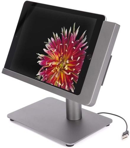 Viveroo iPad Ständerlösung Lack: DarkSteel free flex#381217