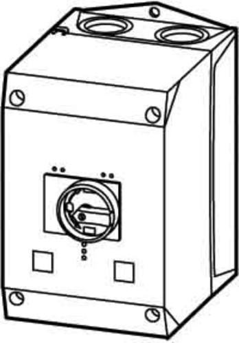 Eaton Isolierstoffgehäuse f.Motorschutzschalte CI-K4-PKZ4-G