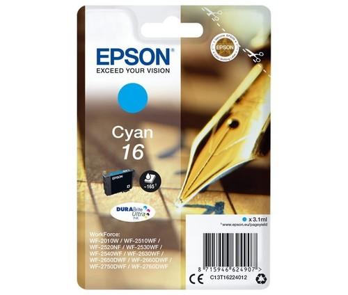 Epson Tintenpatrone cyan EPSON 16 3,1ml cy