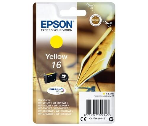Epson Tintenpatrone gelb EPSON 16 3,1ml ge