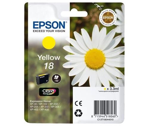 Epson Tintenpatrone gelb EPSON 18 3,3ml ge