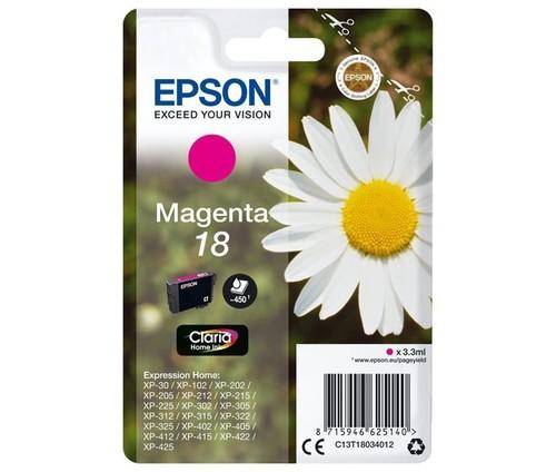 Epson Tintenpatrone magenta EPSON 18 3,3ml ma