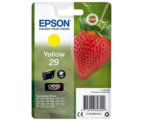 Epson Tintenpatrone gelb EPSON 29 3,2ml ge