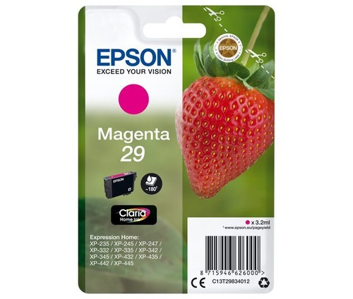 Epson Tintenpatrone magenta EPSON 29 3,2ml ma