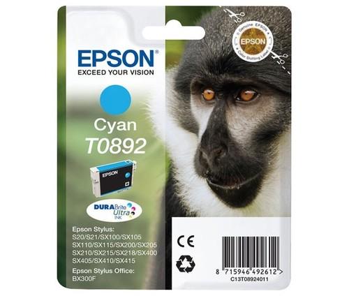 Epson Tintenpatrone cyan EPSON T0892 3,5ml cy