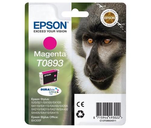 Epson Tintenpatrone magenta EPSON T0893 3,5ml ma