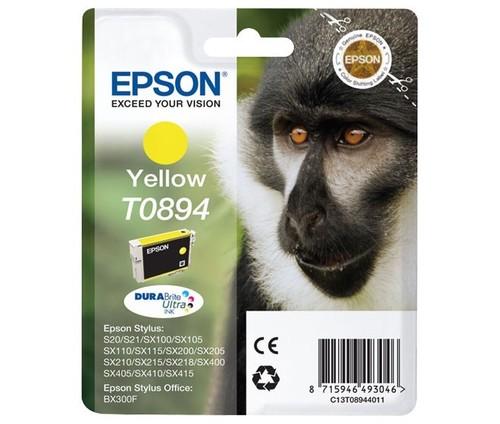 Epson Tintenpatrone gelb EPSON T0894 3,5ml ge