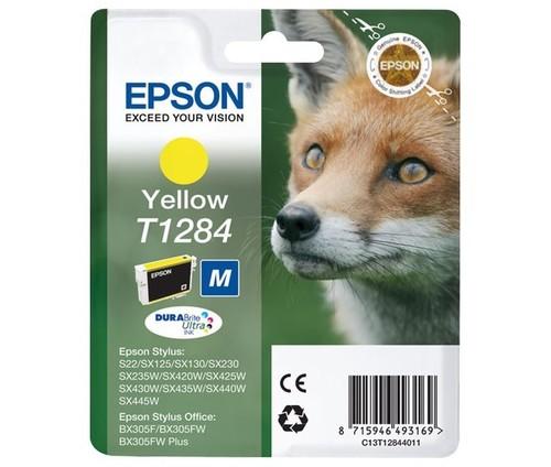 Epson Tintenpatrone gelb EPSON T1284 3,5ml ge