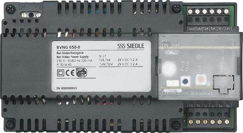 Siedle&Söhne Bus-Video-Netzgerät f. In-Home-Bus Video BVNG 650-0 DE