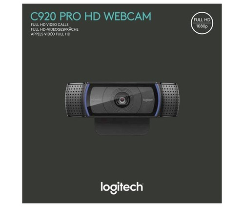Logitech Webcam USB 15MP FullHD,sw LOGITECH C920