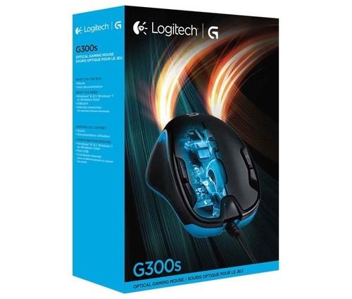 Logitech Gaming Maus Optisch,2500dpi,9Ta LOGITECH G300S