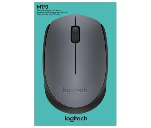 Logitech Maus Wireless Optisch LOGITECH M170 gr