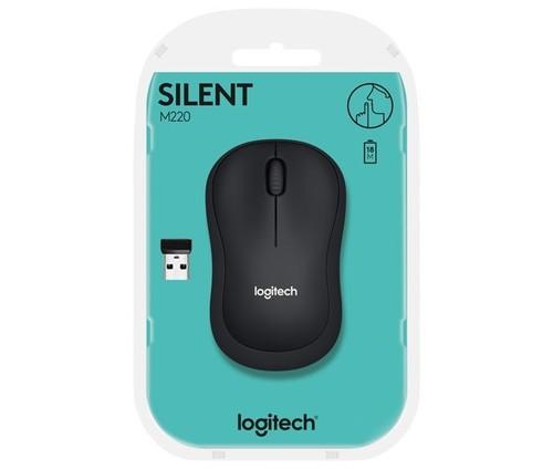 Logitech Maus Wireless Silent,Optisch LOGITECH M220 ant