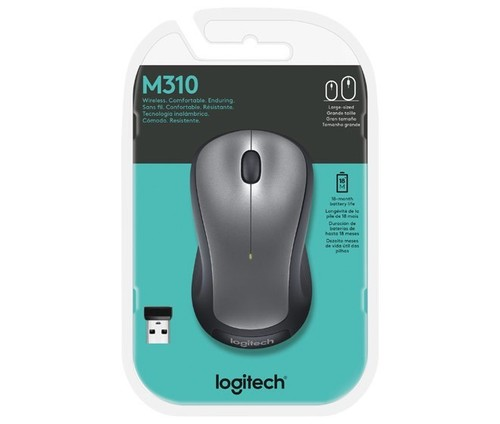Logitech Maus Wireless Laser LOGITECH M310 si