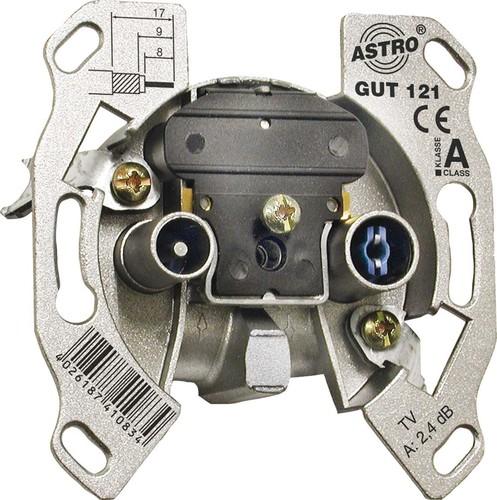 Astro Strobel Antennensteckdose 2-Loch, Stichdose GUT 121