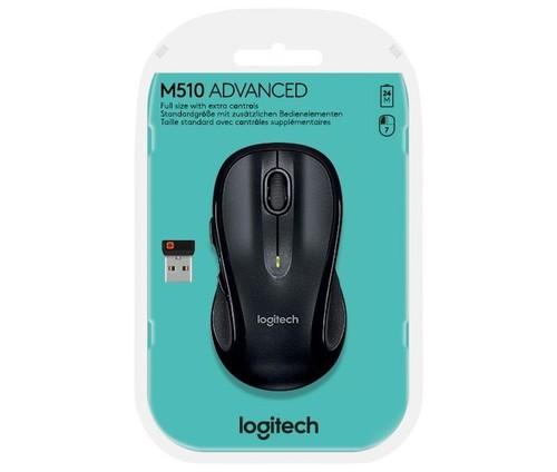 Logitech Maus Wireless Laser,1000dpi,7Ta LOGITECH M510 sw