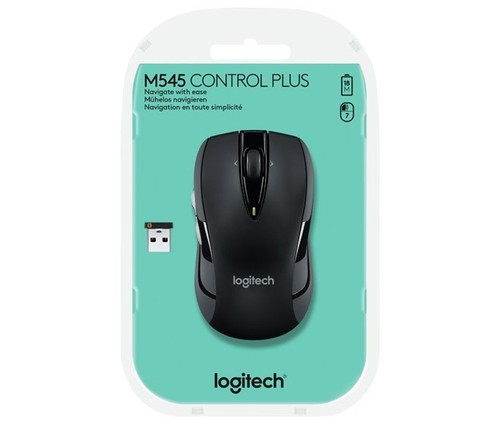 Logitech Maus Wireless ControlPlus,Optisch LOGITECH M545 sw