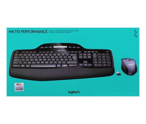 Logitech Tastatur/Maus Set Wireless,Optisch LOGITECH MK710 sw