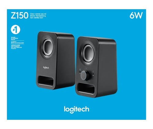Logitech Lautsprecher Stereo sw, Retail LOGITECH Z150