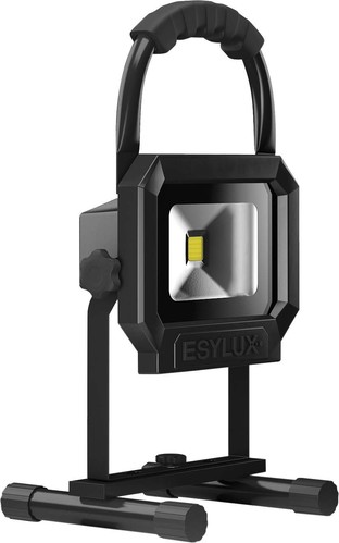 ESYLUX LED-Arbeitsstrahler mit Akku SUN PL TR800 850REBK