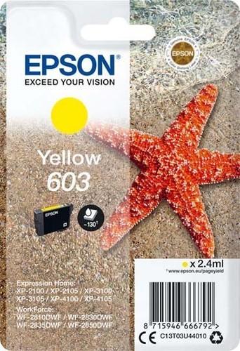 Epson Tintenpatrone gelb EPSON 603 2,4ml ge