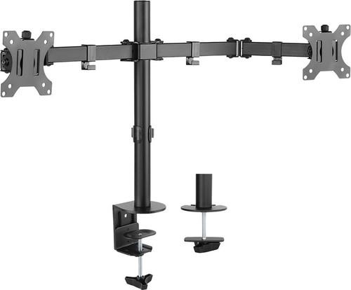 E+P Elektrik Monitor-Tischhalterung 13-32Zoll,2-fach,sw TH12