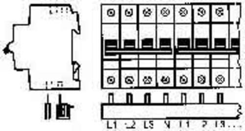 ABB Stotz S&J Sammelschiene pro M Compact PS 4/12