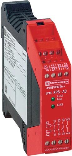 Schneider Electric Not-Aus-Modul 3S,24V-AC/DC,Festkle XPSAC5121