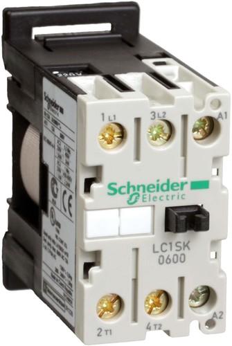 Schneider Electric Schütz 6A 2p.27mm 400V 50/60Hz LC1SK0600V7