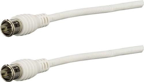 E+P Elektrik F-Anschlusskabel 1,5m weiß FAS15