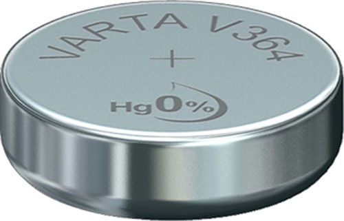 Varta Cons.Varta Uhren-Batterie 1,55V/17mAh/Silber V 364 Stk.1