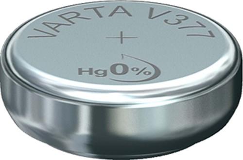 Varta Cons.Varta Uhren-Batterie 1,55V/21mAh/Silber V 377 Stk.1