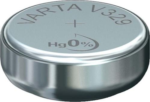 Varta Cons.Varta Uhren-Batterie 1,55V/37mAh/Silber V 329 Stk.1