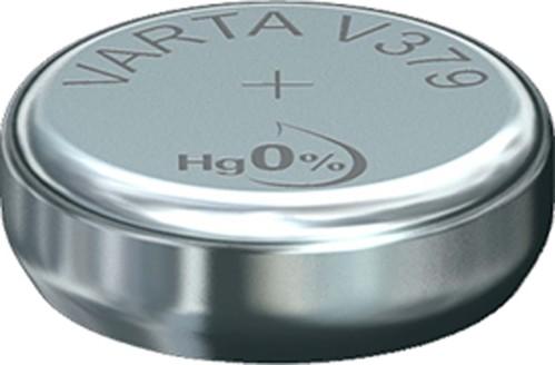 Varta Cons.Varta Uhren-Batterie 1,55V/15mAh/Silber V 379 Stk.1