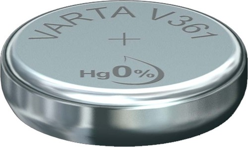 Varta Cons.Varta Uhren-Batterie 1,55V/22mAh/Silber V 361 Stk.1