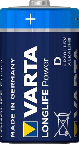 Varta Cons.Varta Batterie Longl.Power D Mono, R20, Al-Mn 4920 Stk.1