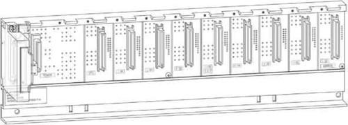 Mitsubishi Electric Hauptbaugruppenträger für CPUs,Netzteil Q38B-E
