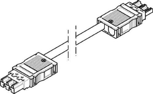 Tehalit Verbindungsleitung 750mm 3x2,5qmm G 4753