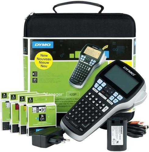 NWL LabelManager ABC-Tastatur +Koffer DYMO LMR-420P ABC K.