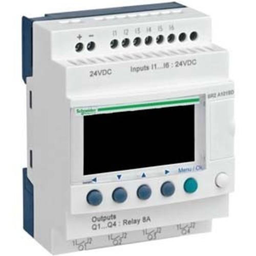 Schneider Electric Zelio Logic 10 E/A 24VDC SR2-A101BD
