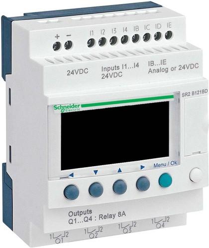 Schneider Electric Zelio Logic 12 E/A 24VDC SR2-B121BD