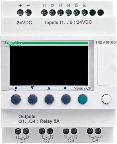 Schneider Electric Zelio Logic 10 E/A 240VAC SR2-A101FU