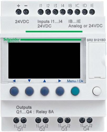 Schneider Electric Zelio Logic 10 E/A 240VAC SR2-B121FU