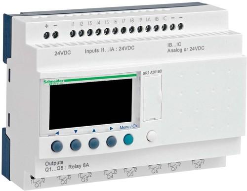 Schneider Electric Zelio Logic 20 E/A 24VDC SR2-A201BD