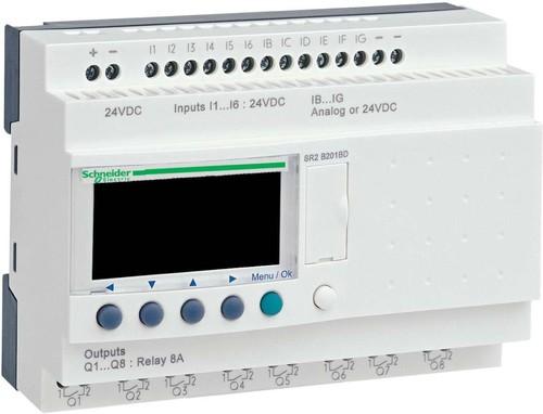 Schneider Electric Zelio Logic 20 E/A 24VDC SR2-B201BD